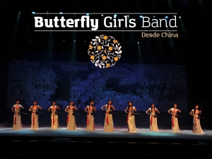 Revive el momento; Espectáculo Internacional Butterfly Girls Band